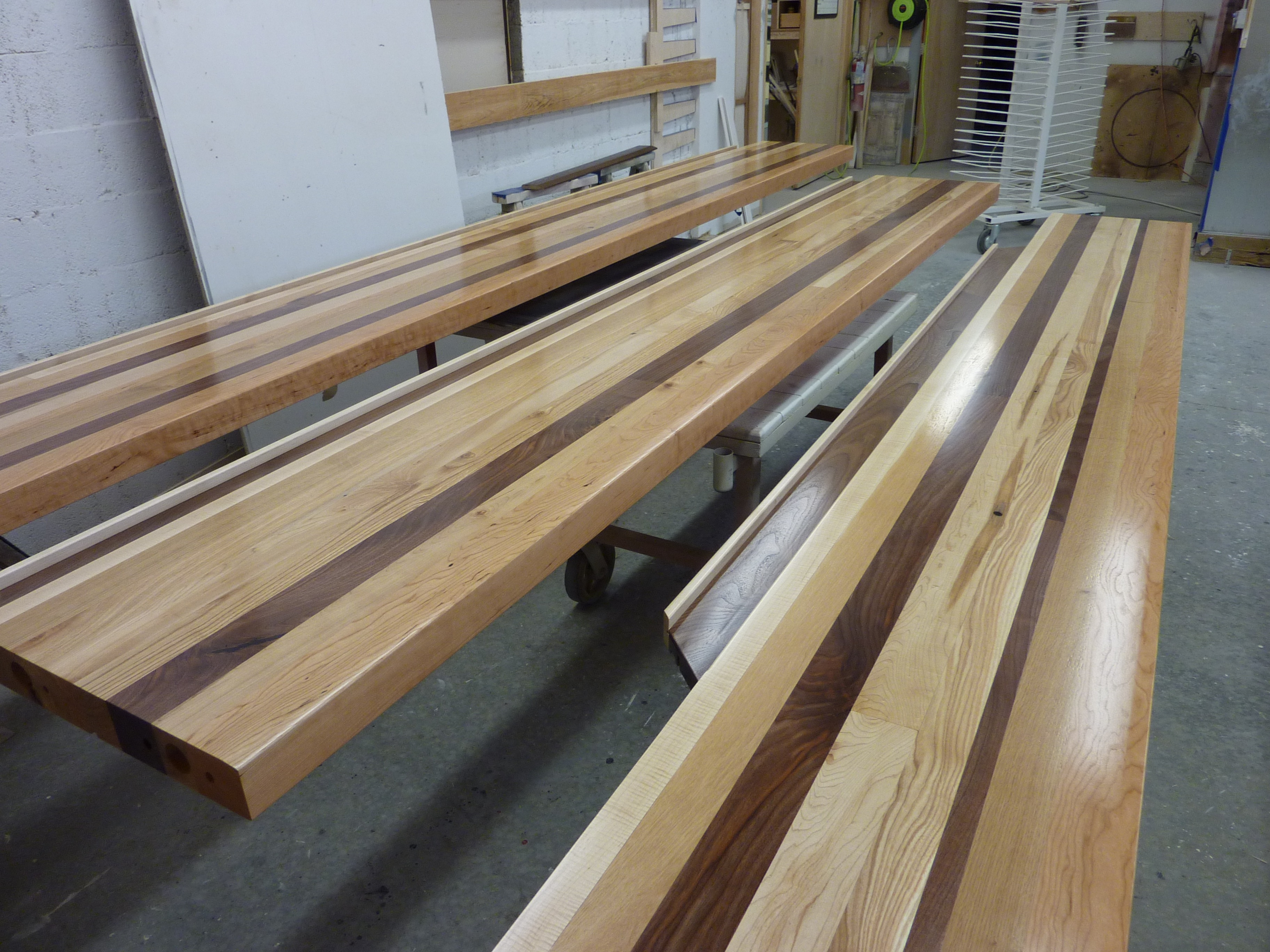 Bar Top Made Of Locally Sourced Hardwoods